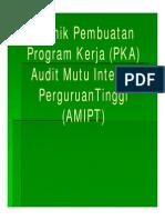 6. Teknik Pembuatan PKA Dan KKA