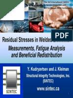 Residual Stress Measurement
