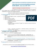 Procedura Inscriere Disertatie