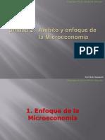 Enfoque de la Microeconomía