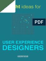Bright Ideas for UX Designers