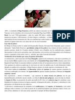 Francisco- Encuentro Asociación Juan XXIII 21-12-14 Para Estar de Pie Hay Que Estar de Rodillas