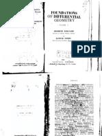 Foundations of Differential Geometry Vol 1 - Kobayashi Nomizu