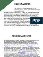 Diapositivas de Condensadores