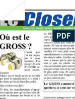 Automobile - Le Closer - Janvier 2015
