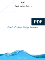 Control Valve Sizing Manual