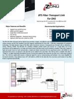 BTS Fiber Transport for DAS 4.6