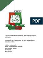 monografia mafer