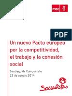 Pacto Europeo por la competitivdad, el empleo y la cohesión social