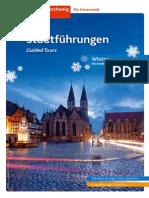 Stadtführungen Braunschweig Winter 2014/2015