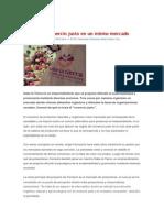 Ecología y Comercio Justo en Un Mismo Mercado