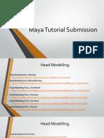 Maya Tutorial Submission