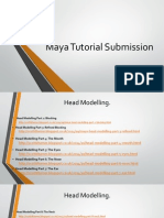Maya Tutorial Submission