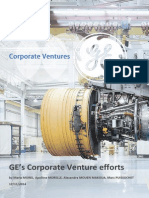 GE Corporate Venture Efforts