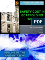 Safety Cost in Scaffolding Works