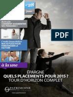 O PATRIMOINE - MAG 28 - JANVIER 2015