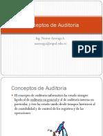 Conceptos de Auditoria