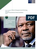 Kofi Annan Fellowship 2015