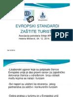 Evropski Standardi Zastite Turista