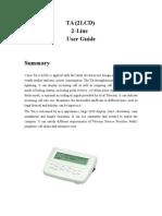 Manual - Tarifador TA 2LCD