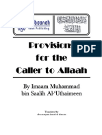 10 - Provisions for the Caller to Allah (Sh Uthaimeen)