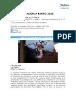 Agenda ENERO - Espacio Fundación Telefónica