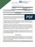 Proposición solicitando mediación de la Junta para buscar una solución al problema que afronta la asociación ALBAR42 con el alquiler de su sede