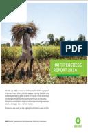 Haiti Progress Report 2014