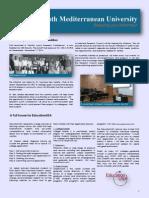 South Mediterranean University Newsletter