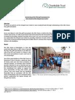 GVI Playa Del Carmen Monthly Achievements Report November 2014