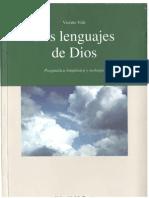 VIDE, V. - Los Lenguajes de Dios. Pragmatica Lingüistica y Teología - Universidad de Deusto 1999