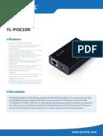 TL-POE10R V4 Datasheet