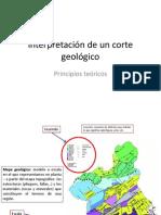 Interpretacion de Un Corte Geologico