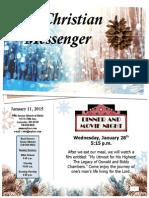 January 11 Newsletter
