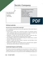 Leadership Progs GE