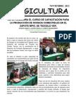 INIFOR CLAUSURA EL CURSO DE CAPACITACIÓN PARA LA PRODUCCIÓN DE HONGOS COMESTIBLES EN EL ZAPOTE MPIO. DE TEOCELO VER.