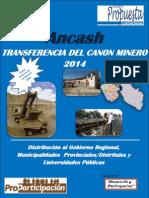 Boletin 7 transf de canon minero Ancash 2014 ver 2.pdf