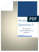 Evaluation #5
