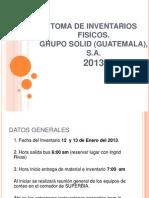 Presentacion Final Inventario 2013