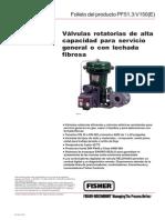 Valvulas Rotatorias de Alta Capacidad Para Servicio General o Con Lechada Fibrosa