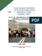Plan de Desarrollo Concertado 2005 2015