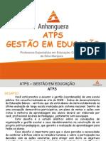 Atps Gestão Em Educação 2014