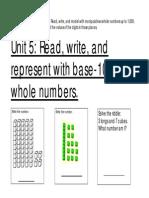 grade 1 unit 5 math