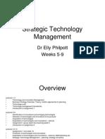 Strategic Technology Management_weeks 5-9-2015