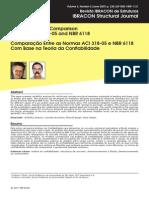 Comparação Entre as Normas Aci 318-05 e Nbr 6118