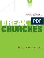 Breakout Churches by Thom S. Rainer, Excerpt
