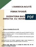 Curs 3.1. BDA_Febra Tifoida_Dizenteria Bacilara