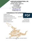 PSI Superfinishing 2011 catalog