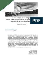 Artigo Maria João Cantinho_ O Voo Suspenso Do Tempo_ Estudo Sobre o Conceito de Imagem Dialéctica Na Obra de Walter Benjamin