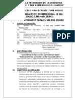 Proyecto Dia Del Logro 2014 - Iep Smhs